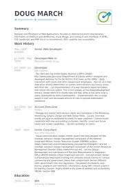 Sle Resume For Senior Graphic Designer senior web designer resumes city espora co