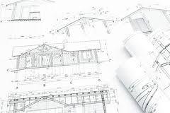 Architectural Building Plans Home Building Construction Plans Stock Photo Image 55708864