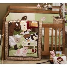 Nojo Crib Bedding Set Farm Animal Nursery Bedding Thenurseries