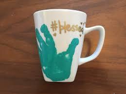 Crazy Cool Mugs Diy Handprint Mug