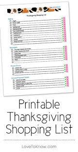 printable thanksgiving meal plan for hosting dinner thanksgiving