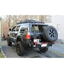 4th gen 4runner led tail lights toyota 4runner 4th gen stealth rack lightbar setup no sunroof