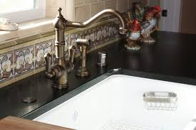 Kitchen Sink Spanish - 1920 u0027s spanish revival home with travertine floors and soap stone