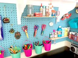 How To Organize Craft Room - craft room organization and storage cubby shelves pegboard and more