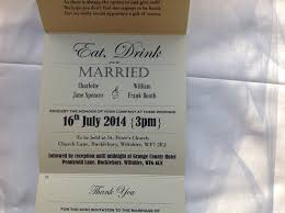 Eat Drink And Be Married Invitations Vintage Wedding Invitations And Vintage Wedding Stationery