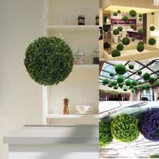 us artificial boxwood grass topiary outdoor indoor plant