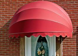 Fabric Door Awnings Seville Dome Shaped Awning