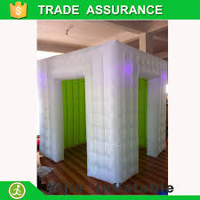 photo booth tent white outside and green inside green photo booth backdrop led