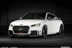 the 2018 abt audi tt rs and limited edition abt audi tt rs r