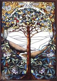 ebay stained glass ls tiffany studios br i autumn landscape i window 1 stained