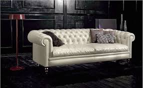 faux leather chesterfield sofa decorations ouplent mid century modern couch with black faux