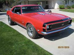 chevy 68 camaro 1968 chevrolet camaro for sale on classiccars com 168 available