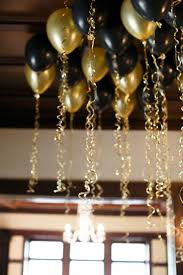 simple new year s decor ideas to ring in 2018 gold balloons