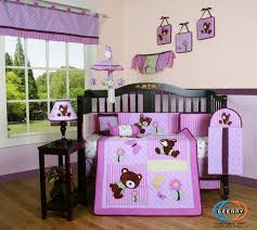 Pink Camo Crib Bedding Set by Thirteen Piece Crib Bedding Sets For Girls
