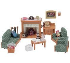Buy Sylvanian Families Deluxe Living Room Set At Argoscouk - Sylvanian families living room set
