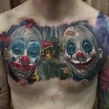 creepy clown chest by dmitriy samohin or