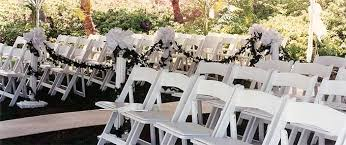 renting chairs for a wedding rent chairs for events in hawaii folding chairs stacking chairs