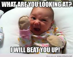 Angry Baby Meme - angry baby