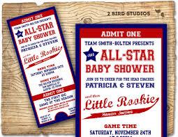 baseball baby shower invitations theruntime com