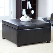 Black Ottoman Storage Bench by Ottoman Simple Coffee Table Por Ottoman Storage Matching