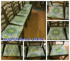 Home Design Ideas How To Reupholster Dining Room Chairs Feature - Dining room chair reupholstering