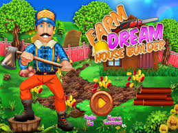 House Builder Farm Dream House Builder Game For Kids Android Apps On Google Play