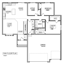 outstanding rambler house plans with basement 58 in modern