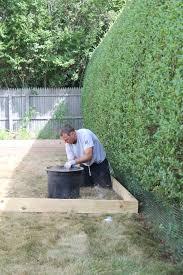 Gravel Patio Construction Create A Diy Pea Gravel Patio The Easy Way City Farmhouse