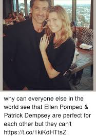 Ellen Meme - why can everyone else in the world see that ellen pompeo