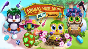 baby jungle animal hair salon 3 newborn hatch and haircut