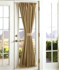 Blinds Or Curtains For French Doors - front door side panel curtains sidelight curtain unforgettable