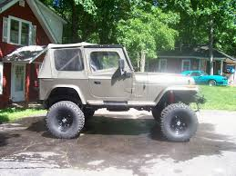 jeep kaiser lifted strohm 1988 jeep wrangler specs photos modification info at