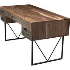 Crate And Barrel Office Desk Crate U0026 Barrel U0027s Hendrix Desk Is Made From Reclaimed Wood And