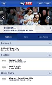 sky bet apk guide for android app by sky bet mobile tablet