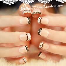 aliexpress com buy high quality short design french nail tips