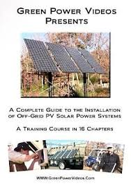 solar installation grid pv course 4 hours 16