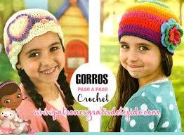 modelos modernos para gorras tejidas con gorros para niñas a crochet paso a paso crochet y dos agujas