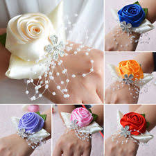 Prom Wrist Corsage Prom Corsage Wedding Supplies Ebay