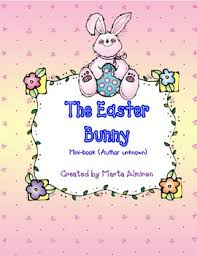 easter bunny book the easter bunny mini book freebie for march by marta almiron tpt
