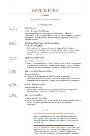 Maintenance Resume Examples by Groundskeeper Resume Samples Visualcv Resume Samples Database