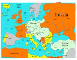 European Countries Map Europe Map In Of Countries Roundtripticket Me