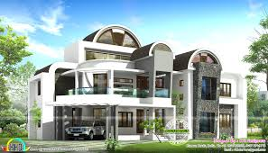 round roof unique house design kerala home and floor plans