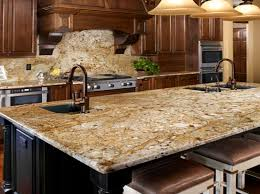 Backsplash Ideas For Kitchens With Granite Countertops New Venetian Gold Granite For The Kitchen Backsplash Ideas With