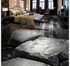 popular stone flowing water carp living room bathroom 3d floor