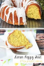 lemon poppy seed pound cake mostly homemade mom
