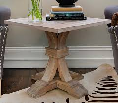 round pedestal accent table round pedestal accent table iron wood with regard to end plans 6