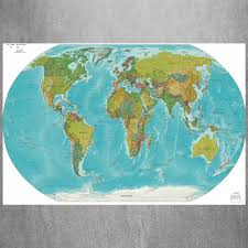 World Map Wall Poster by Map Frames Promotion Shop For Promotional Map Frames On Aliexpress Com