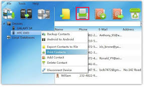 how to print on android how to print android contacts from pc directly