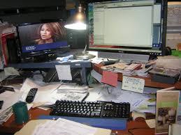 Work Desk Organization Organizing A Busy Work Desk San Diego Professional Organizer