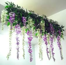 s bouquet 3 twigs artificial wisteria flowers leaves vines fake